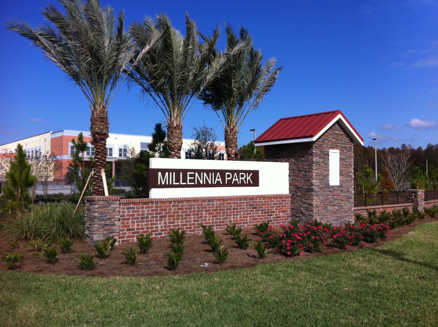 Millennia Park entry 1