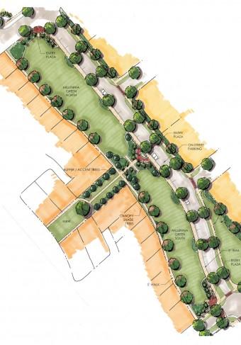 Millennia Park-millennia green