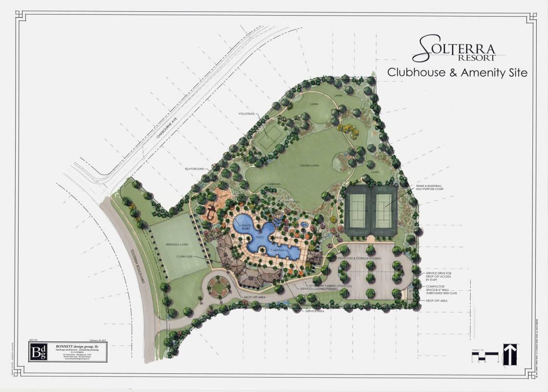 Solterra Resort Amenity Site Graphic