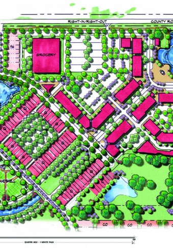 Liberty Park Village Center Plan
