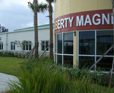 liberty magnet entry tower