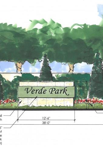 Verde Park - entry signage_2013-09-04