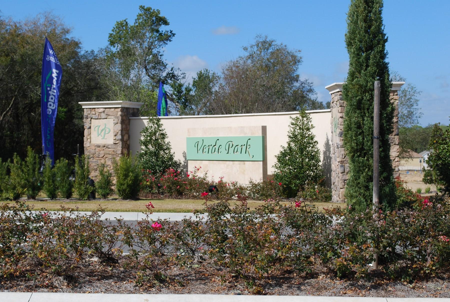 Verde Park sign