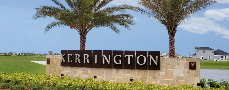kerrington main sign