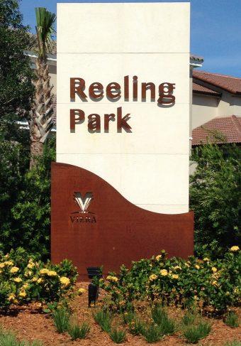 reeling park signage web